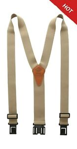 Dickies Heavy Duty Clip Suspenders - Men's Adjustable Y Back Straps with Clip