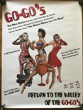 Go-Go's Return To The Valley... RARE promo Poster '94