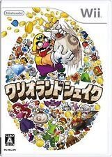 Used Nintendo Wii Wario Land Shake it Japan Import、