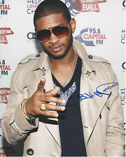SINGER USHER RAYMOND HAND SIGNED AUTHENTIC 8X10 PHOTO B w/COA ATLANTA R&B LEGEND