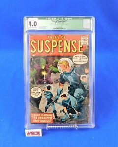 Tales of Suspense #1 - CGC Qualified Grade 4.0 - Atlas Comics 1959 Ditko Buscema