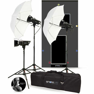 NEW WESTCOTT 3-HEAD(3x 300W)Studio Flash Kit + FREE S/box & Ring BOWENS S TYPE