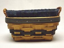 Longaberger 2000 Collector's Club Renewal Basket with Liner and Protector