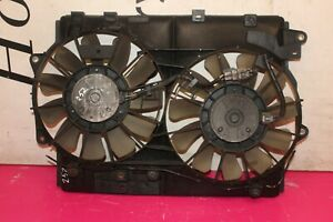 LEXUS IS 220 D 2.2L 2008 TWIN RADIATOR COOLING FAN 422750-1620