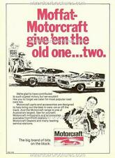 1977 ALLAN MOFFAT COLIN BOND BATHURST XC GT FORD A3 POSTER AD SALES BROCHURE