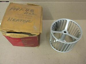 NOS MOPAR 1941 -48 HEATER BLOWER WHEEL DODGE PLYMOUTH DESOTO CHRYSLER