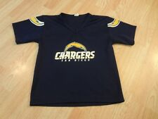Youth San Diego Chargers M Football Jersey (Navy) Franklin Jersey