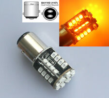 44 SMD LED CANBUS ERROR FREE Amber 380 1157 P21/5W BAY15D REAR FOG BULBS HID