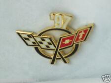 1997 Corvette Pin,    Chevrolet Pin,  Lapel Pin, Hat Tac , (**)