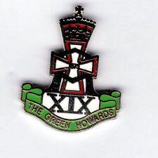 Enamel Lapel Badge Green Howards