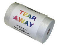 STARLITE TEAR AWAY EMBROIDERY BACKING PAPER (WHITE) - 100m x 30cms on Roll