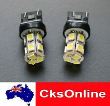 2 x T20 7440 7443 13 SMD 5050 LED BACK UP REVERSE LIGHT WHITE DC12V