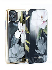 Ted Baker® Mirror Folio Protective Luxury Floral Case for iPhone 11 Pro - OPAL