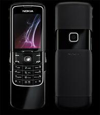 "2.0"" Nokia 8600 2.0MP Camera Bluetooth TFT Slider GSM Unlocked Cell Phone Black"