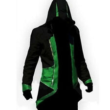 Assassins Creed3 Connor Kenway Hoodie Men XS-5XL Coat Jacket Cosplay Costume Lot