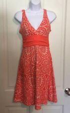 Patagonia Women's Size Extra Small Orange Sleeveless Margot Summer Dress