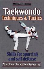 Taekwondo Techniques and Tactics (Martial Arts Series)