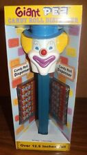 """Giant Pez Peter The Clown With Red Stem Candy Dispenser-Over 12"""" Tall"""