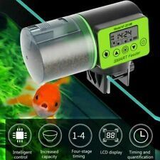 Smart Automatic Fish Feeder Aquarium Feeder Fish Tank Auto Feeding Dispenser LCD