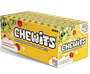 RETRO FRUIT SALAD CHEWITS 30g  SELLING IN LOTS OF 24  PACKS FAST DELIVERY