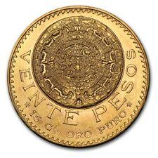 Special Price! Mexico Gold 20 Pesos Agw .4823 Random Year