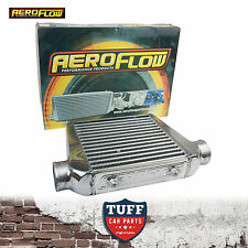 """Aeroflow 280x300x76 Alloy Intercooler Polished with 3"""" Inlet Outlet AF90-1002"""