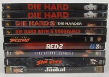 Bruce Willis Dvds Action Sci-Fi Fantasy Movies *You Pick* *Read Description*