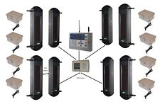 Wireless GSM Perimeter Alarm with 4 sets of Beams, GSM H/D Dialler & Power Packs