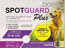 Generic Frontline Plus for Dogs (23-44 lbs) Flea & Tick ~ 3 Doses Non-Branded