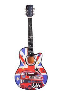 Beatles 'Abbey Road'' Tribute Wooden Miniature Guitar Replica