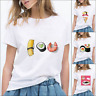 Womens Tops Sushi Funny Situations Food Lover Fashion Short Sleeve T Shirts 2020