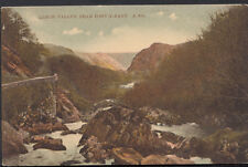Wales Postcard - Lledr Valley Near Pont-Y-Pant     RS3537