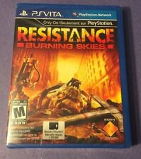 Resistance Burning Skies (PS VITA) NEW