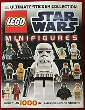 Lego Star Wars Minifigures - Ultimate Sticker Collection Book - DK Publishing