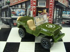 '16 MATCHBOX 1943 MILITARY JEEP WILLYS LOOSE 1:64 SCALE
