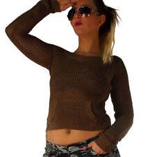 Grobe Damen-Pullover & -Strickware aus Baumwollmischung mit M
