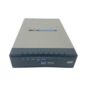 Cisco Linksys RV042 Home Small Business 4-Port 10/100 Dual WAN VPN Router