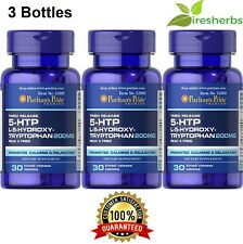 5-HTP L-5-HYDROXYTRYPTOPHAN 200MG CALM RELAX SLEEP SLEEPING SUPPLEMENT 90 TABLET