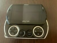 Sony PSP go Launch Edition 16GB Handheld System - Piano Black used