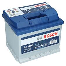 Bosch S4 001 12V 44Ah 440 A EN Autobatterie Starterbatterie ersetzt 45Ah 50Ah