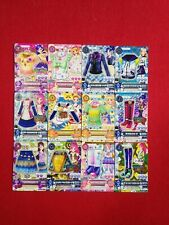 MIXED LOT  12 CARDS AIKATSU JAPANESE CARDS USED CONDITION #1553