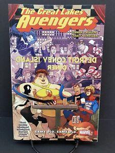 Great Lakes Avengers: Same Old Same Old Marvel Graphic Novel Trade Paperback TPB