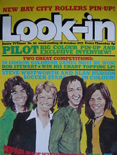 LOOK-IN MAGAZINE 18TH OCT 1975 - PILOT - BAY CITY ROLLERS