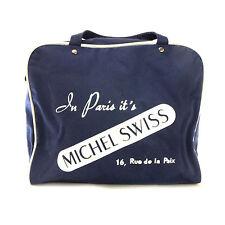 vintage bleu marine Michel Suisse' en paires It's 'bagages de voyage sac a main