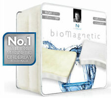 Bio Magnetic Underlay (Dbl Cotton) x2 Free Magnetic Pillow Protectors 60% OFF