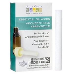 Essential Oil Wick Diffuser Replacement Sponge Refill Stick, 10 Wicks Sticks