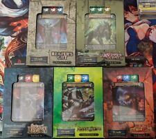 Dragoborne Starter Deck Set - all 5 decks sealed w/Promos!