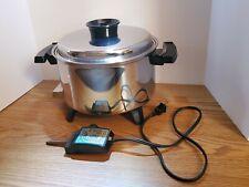 New listing Townecraft Chef'S Ware 5 Qt Liquid Core Electric Slow CookerE19762