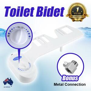 Hygiene Toilet Bidet Seat Attachment Spray Water Wash Clean Metal Upgrade Vision