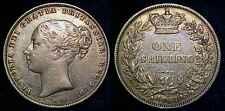 GREAT BRITAIN 1867 Silver Shilling ***